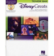 Disney Greats Tenor Sax   CD