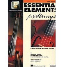 Essential E. Strings Violin Book 1