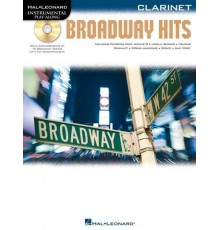 Broadway Hits Clarinet   CD