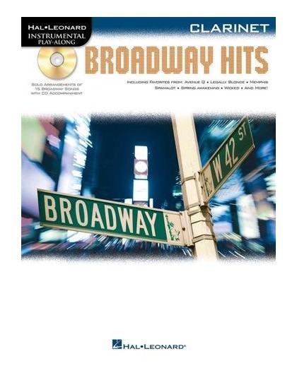 Broadway Hits Clarinet   CD