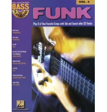 Funk Bass Play-Along Vol. 5   CD
