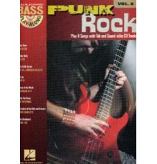 Bass Play-Along Punk Rock Vol. 8