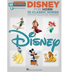 Disney for Horn 10 Classic Songs/ Book