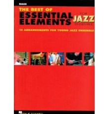The Best Essential Elements Jazz/ Bass