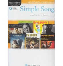 Simple Songs Keyboard Percussion/ Audio