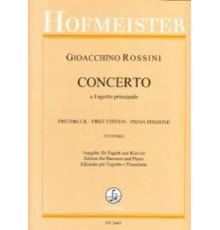 Concerto a Fagotto Principale/ Red.Pno.