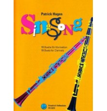SingSong 11 Duets for Clarinets