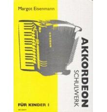 Akkordeon-Schulwerk für Kinder I