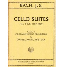 Cello Suite Nºs 1-3 S.1007-1009 Cello II