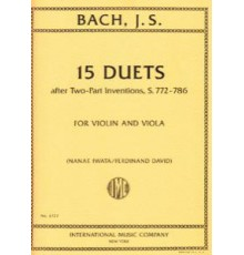 15 Duets (After Two-Parts Inventions, S.