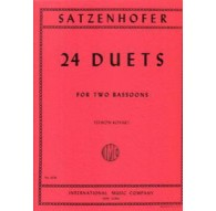 24 Duets for Two Bassoons