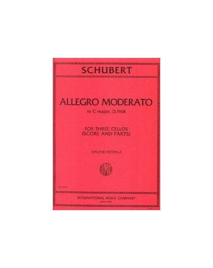 Allegro Moderato in C Major, D. 968