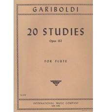 20 Studies Op. 132