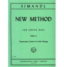 New Method for String Bass Part II
