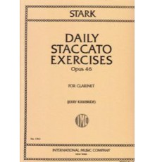 Daily Staccato Exercices Op. 46.