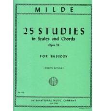 25 Studies in Scales and Chords, Op.24