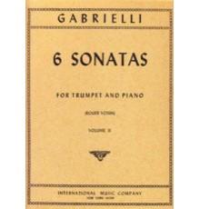 6 Sonatas Vol.II