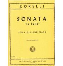 "Sonata Nº 12 Op. 5 ""La Follia"""