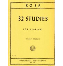 32 Studies for Clarinet