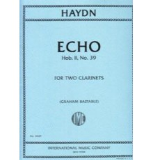 Echo Hob. II, Nº 39 for Two Clarinets