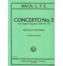 Concerto Nº 3 A Major/ Red.Pno.