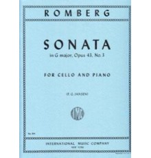 Sonata G Major Op. 43 Nº 3