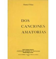 Dos Canciones Amatorias