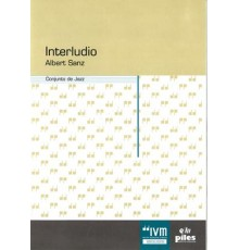 Interludio. Conjunto de Jazz/ Full Score