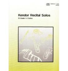 Kendor Recital Solos Baritone B.C   CD
