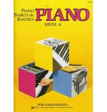 Bastien P. Básico.Piano. Nivel 4º