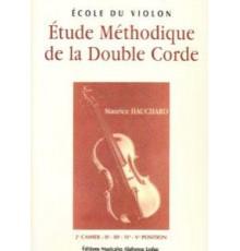 Etude Méthodique de la Double Corde. 2º