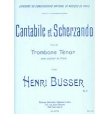 Cantabile et Scherzando Op. 51