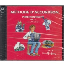 Méthode d? Accordéon Vol.2 CD