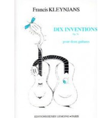 Dix Inventions Op. 76