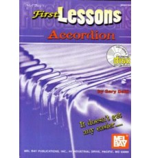 First Lessons Accordio   CD