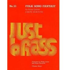 Folk Song Fantasy Just Brass
