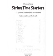 String Time Starters Double Bass. 21 Pie
