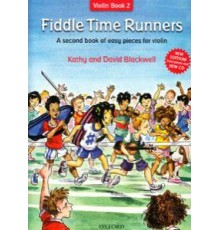 Fiddle Time Runners.Violin Book 2   CD