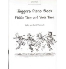 Joggers Piano Book Fiddle Time and Viola