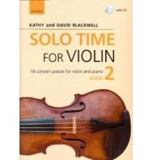 Solo Time for Violin Book 2   CD