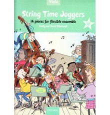 String Time Joggers Viola   CD. 14 Piece