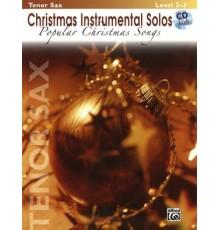 Popular Christmas Songs Tenor Sax Level