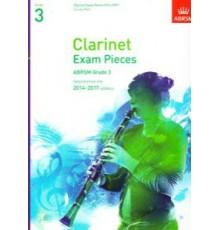 Clarinet Exam Pieces 2014-2017 Grade