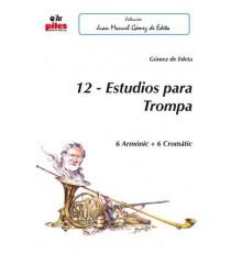 12 Estudios para Trompa