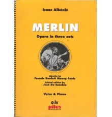 Merlin/ Partitura A-4 Voces y Piano