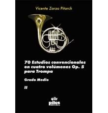 70 Estudios Convencionales Op. 5 Vol. II