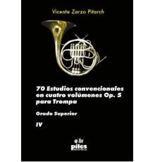 70 Estudios Convencionales Op. 5 Vol. IV