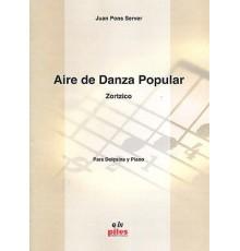 Aire de Danza Popular. Dulzaina