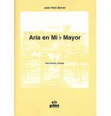 Aria en Mib Mayor. Flauta y Piano