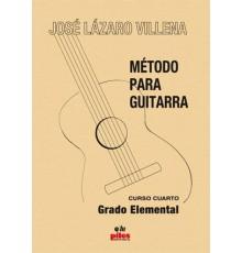 Método para Guitarra. Curso 4º Grado Ele